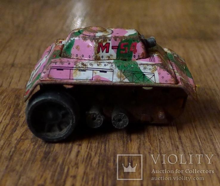 Заводной танк из жести., фото №4