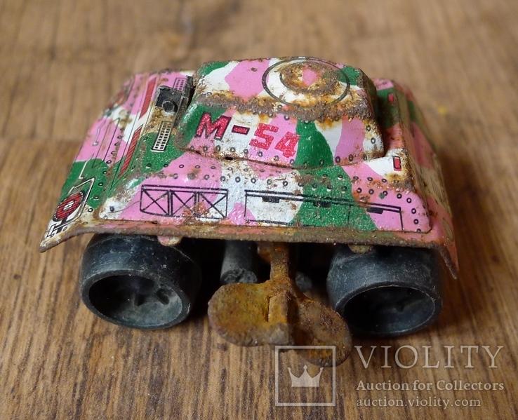 Заводной танк из жести., фото №8