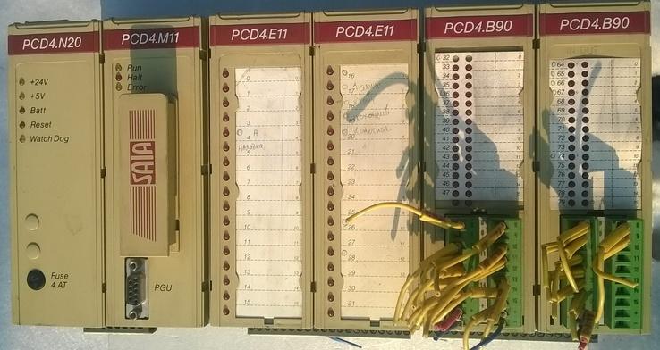 ПЛК контроллер Saia (оригинальный американский контроллер)