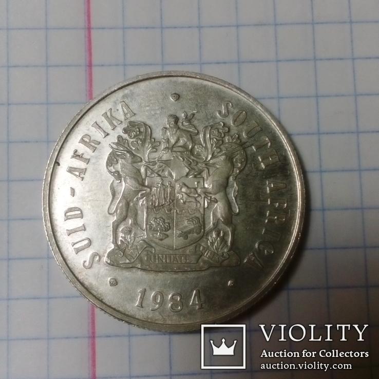 1 ранд ЮАР 1984 г