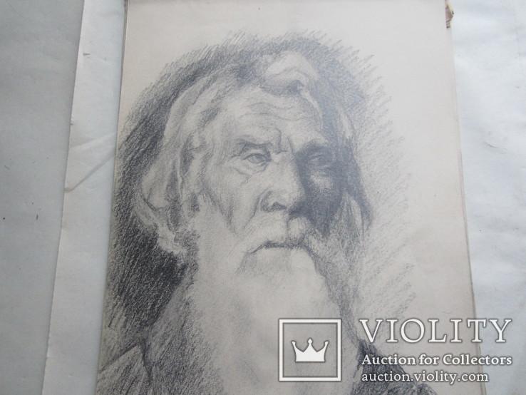 Рисунки неизвестного художника конца 19 века.