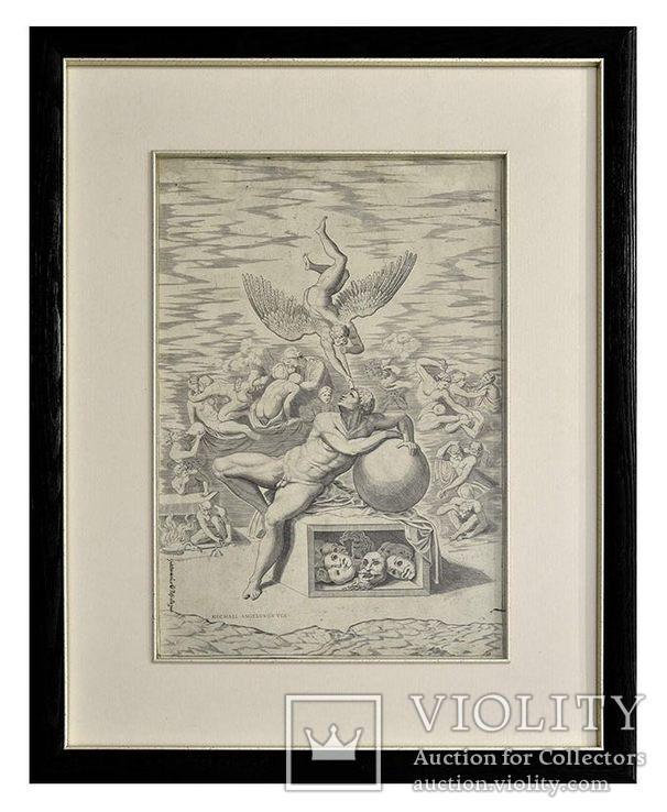 «Мечта человека», 1670-1724, Микеланджело ди Буонарроти