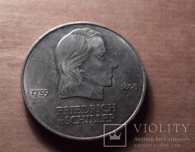 Германия 1972 год монета 20 марок