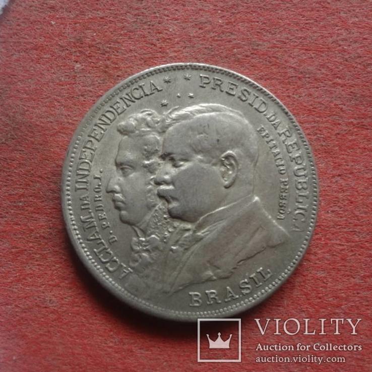 2000 Рейс 1922 Бразилия серебро  (ж.3.15)_