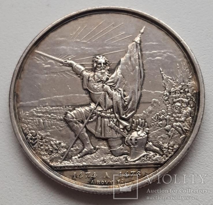 5 франків (стрілковий талер)st.Gallen 1874
