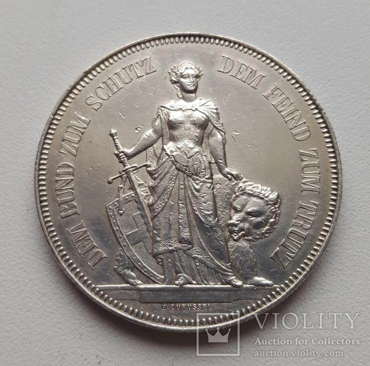 5 франків (стрілковий талер )1885р.Берн