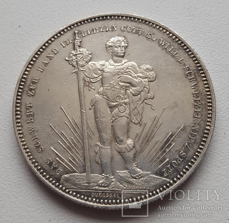 5 франків (стрілковий талер)1879 р.Базель