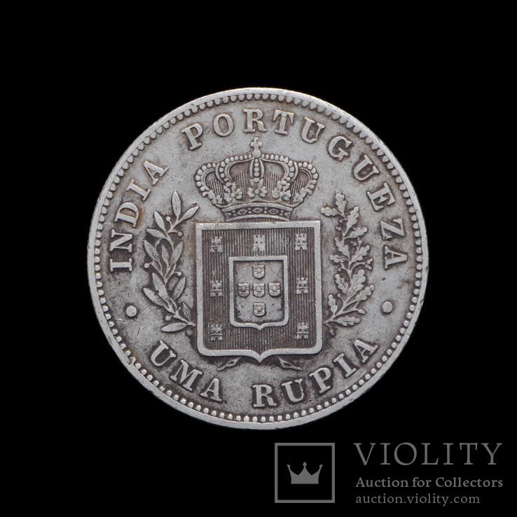 1 Рупия 1882, Португальская Индия Гоа
