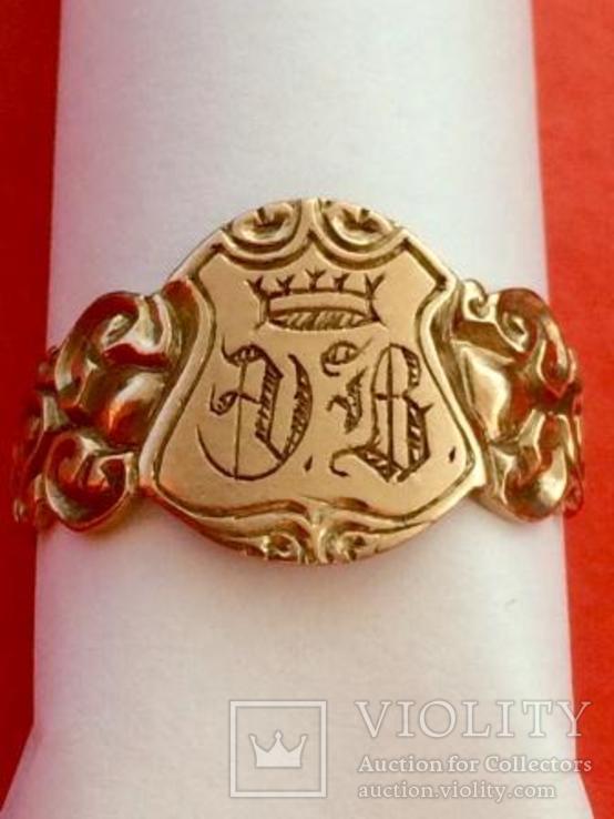 Перстень Au