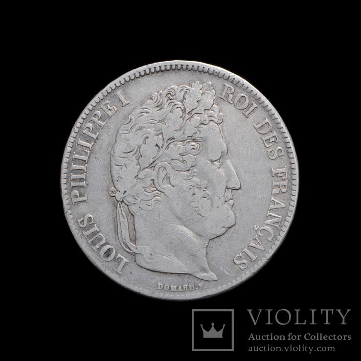 5 Франков 1834 W Луи Филипп, Франция