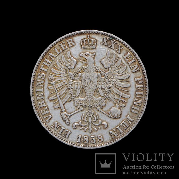 Талер 1858, Пруссия