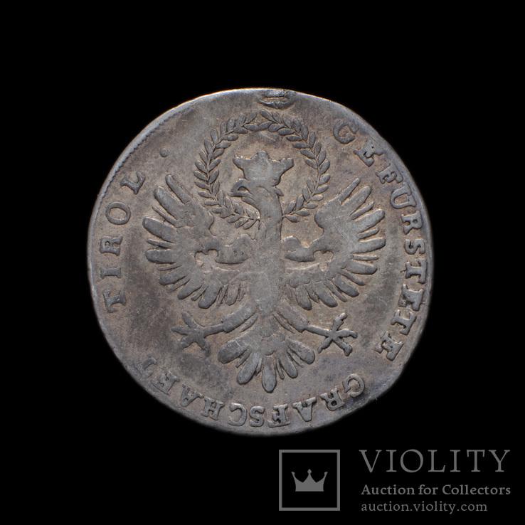 20 Крейцеров 1809 Тирольское Восстание, Австрия