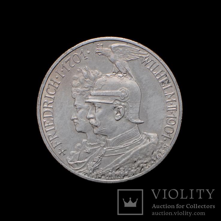2 Марки 1901 200 Лет Династии Гогенцолернов, Пруссия