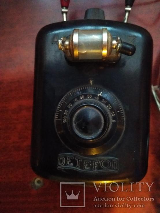 Детекторный радиоприемник DETEFON