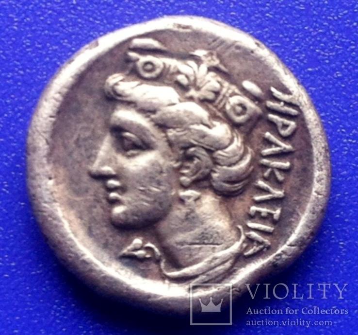 Монета Гераклеи Понтийской, вес-3,94г., серебро
