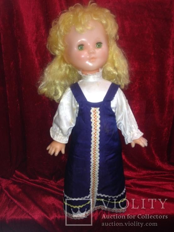 Кукла СССР большая 60 см Саратовская Таня