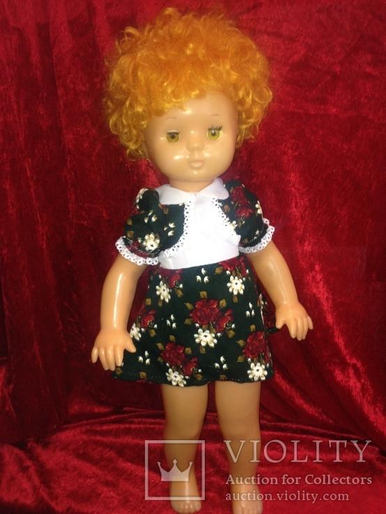 КуклаСССР  Лена 60 см клеймо 8 Марта