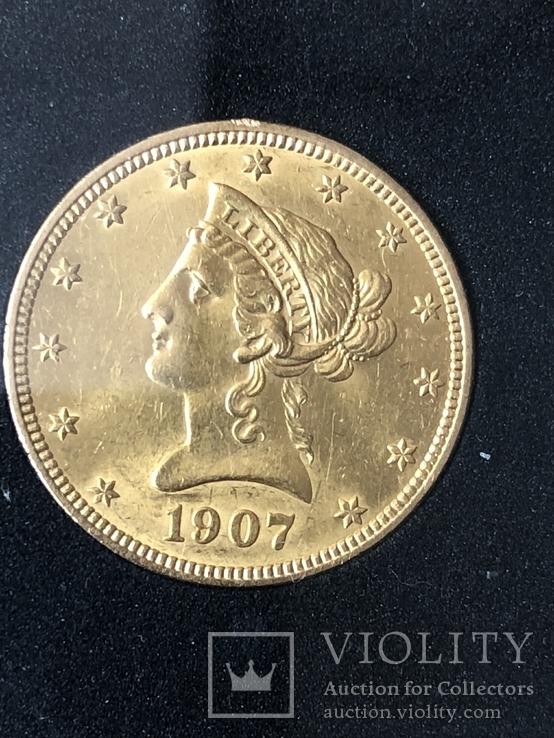 10$США