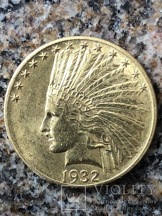10$США Индеец