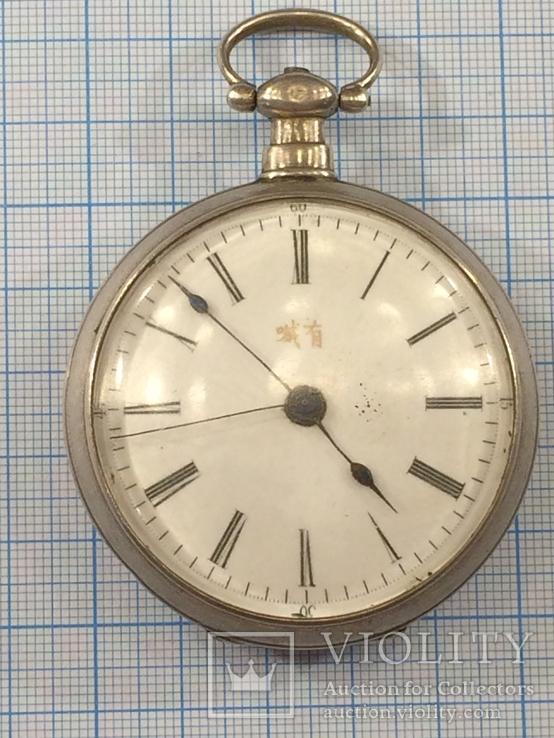 Часы карманные Швейцария Leo Juvet