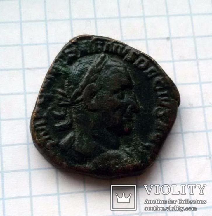 Траян Деций, Сестерций