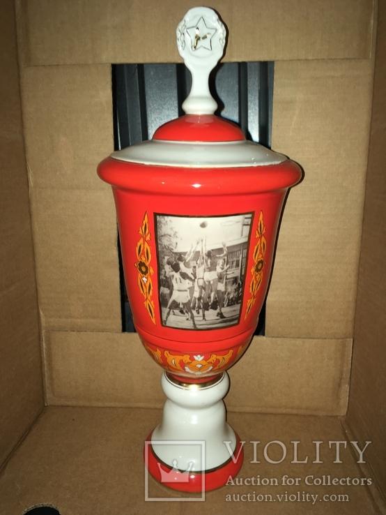 1956 Барановка Эксклюзивный кубок Волейбол 40 см