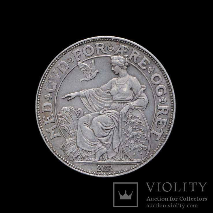 2 Кроны 1903 40 лет правления, Дания