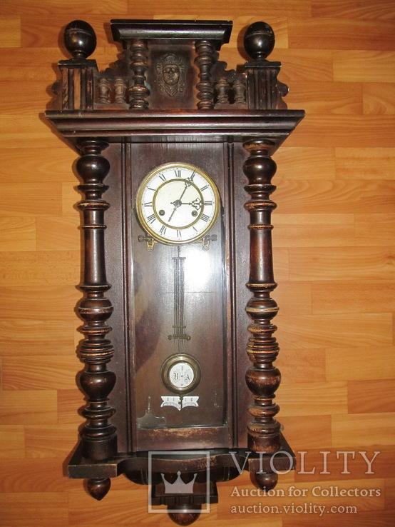 Часы настенные - F.M.S., рабочие, 10-е года 20 века.