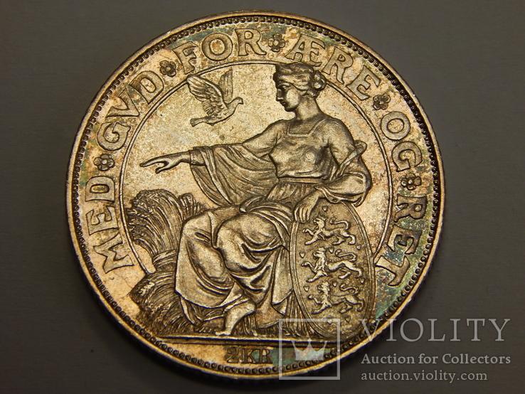 2 кроны, 1903 г Дания