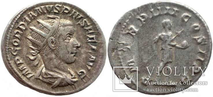 Антониниан имп. Гордиан III  241 г н.э. (75_55)