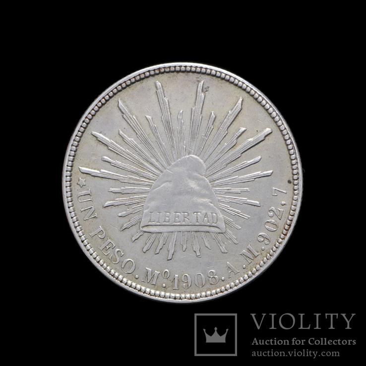 1 Песо 1908, Месика