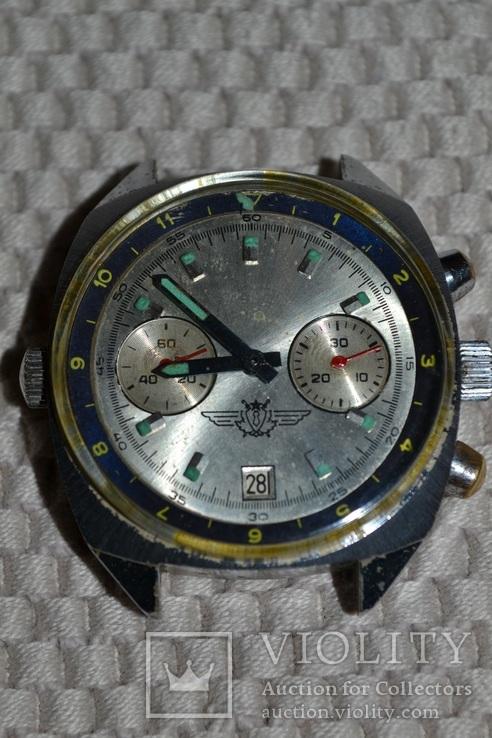Часы полет штурманские хронограф на ходу