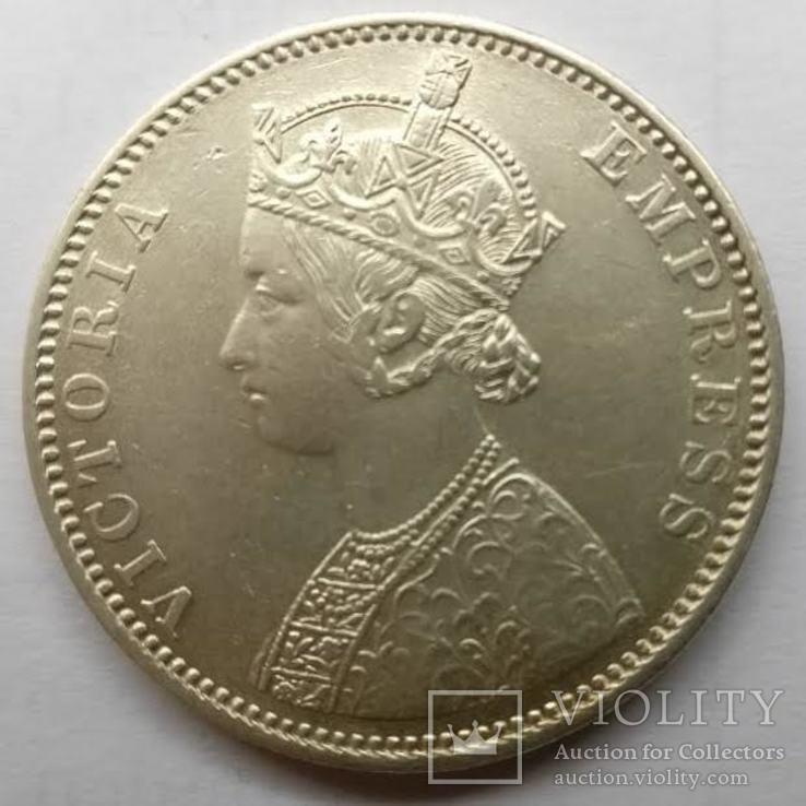 Индия 1 рупия 1886