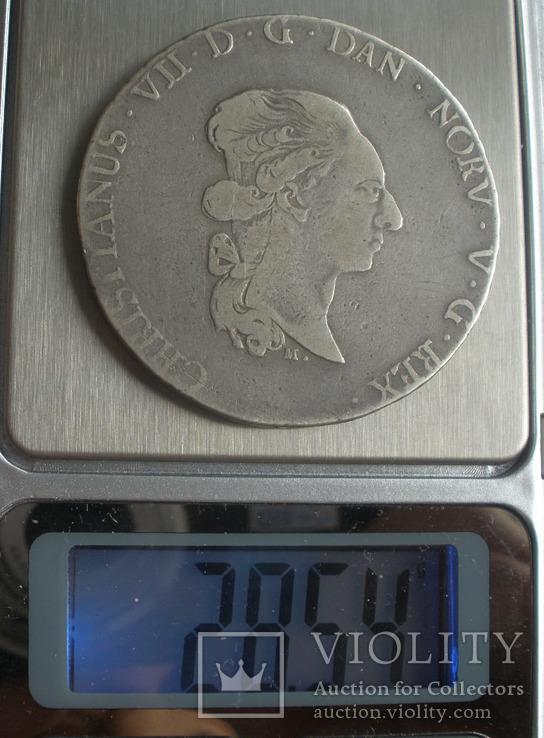 SCHLESWIG-HOLSTEIN 60 Schilling 1789 MF, фото №6