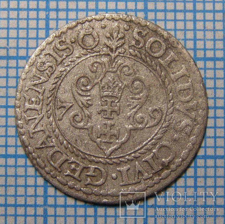 Гданський шеляг Стефана Баторія 1579 р.