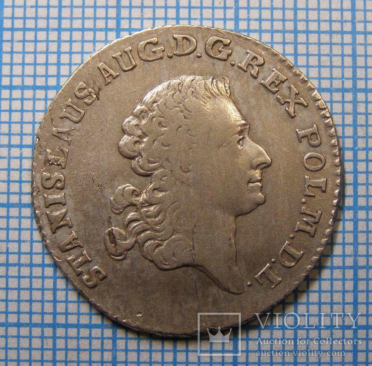 4 гроша (злотувка) Станіслава Августа 1767 р.