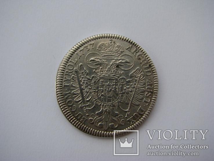 Талер 1737 Карл VI (Халл)