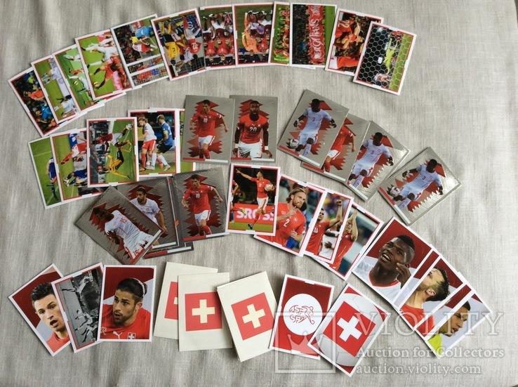 Коллекция наклеек «ЗВЕЗДЫ ФУТБОЛА»Швейцария, фото №2