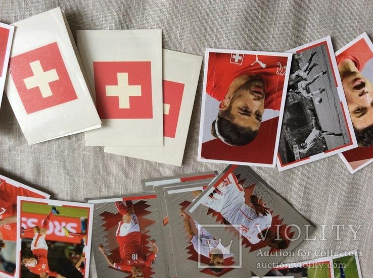 Коллекция наклеек «ЗВЕЗДЫ ФУТБОЛА»Швейцария, фото №4