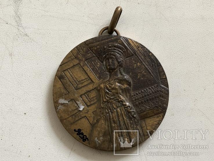 Церковная Грецкая медаль, фото №2