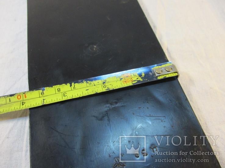 Картина Цапли пластмасса 26х9,5 см, фото №7