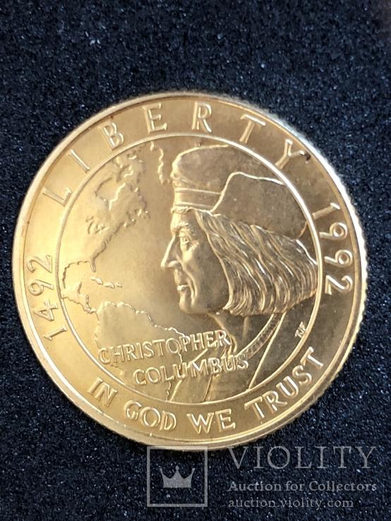 5$ 1992г Columbus head