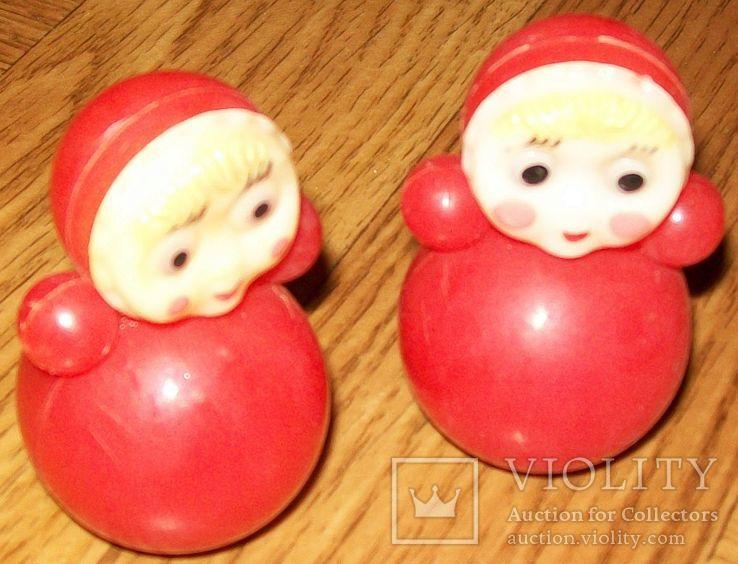 2 куклы-неваляшки. СССР., фото №2