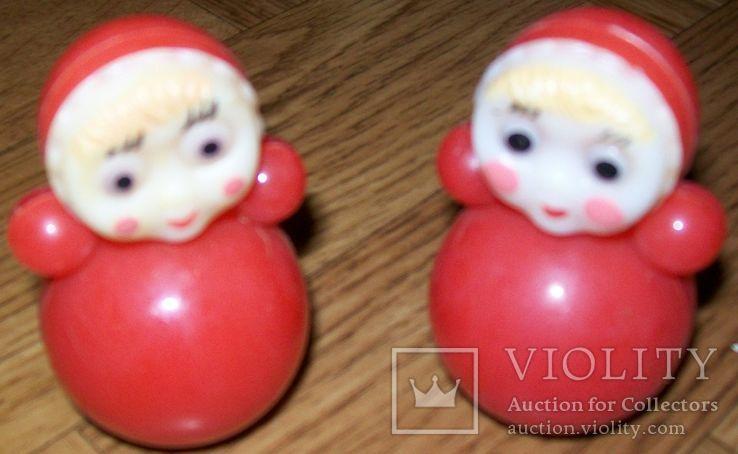 2 куклы-неваляшки. СССР., фото №5