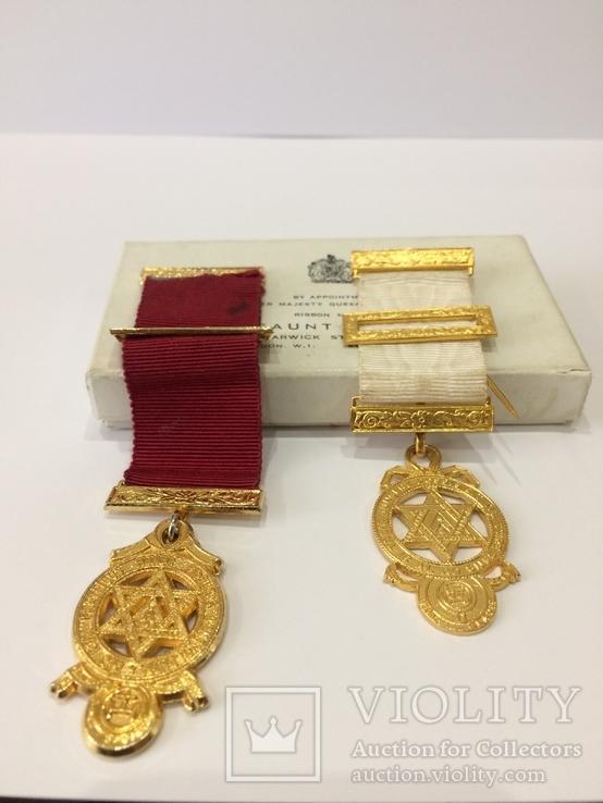 Масонские медали знак масон 2шт