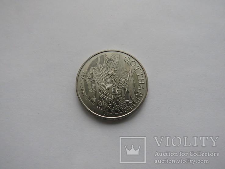 5 франков Швейцария 1982 год, фото №2