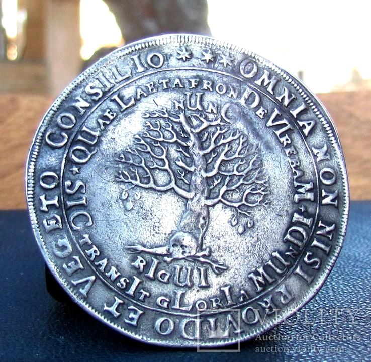 1/2 Талера 1666 р. Брауншвейх в пам'ять смерті Августа ІІ