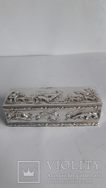 Шкатулка серебро 925 пробы