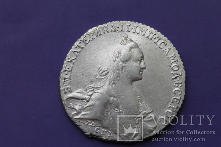 Рубль 1767 г СПБ TI АШ