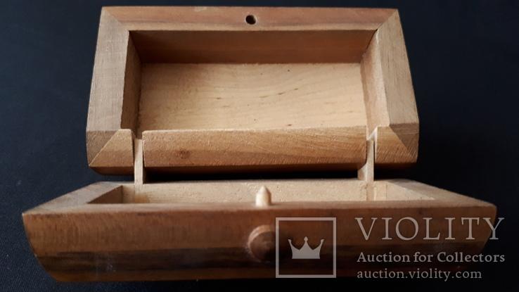 Шкатулка деревянная., фото №6